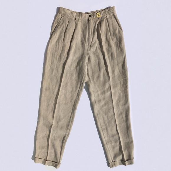 b0260b08f4 GAP Pants | Mens Linen Trousers | Poshmark